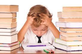 Stressed School Child Photo